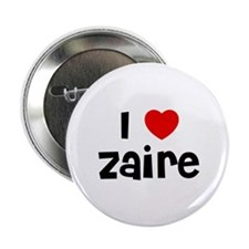 """I * Zaire 2.25"""" Button (10 pack)"""