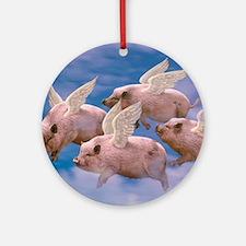 cp-ww-pad-airborne Round Ornament