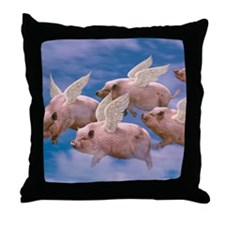 cp-ww-pad-airborne Throw Pillow
