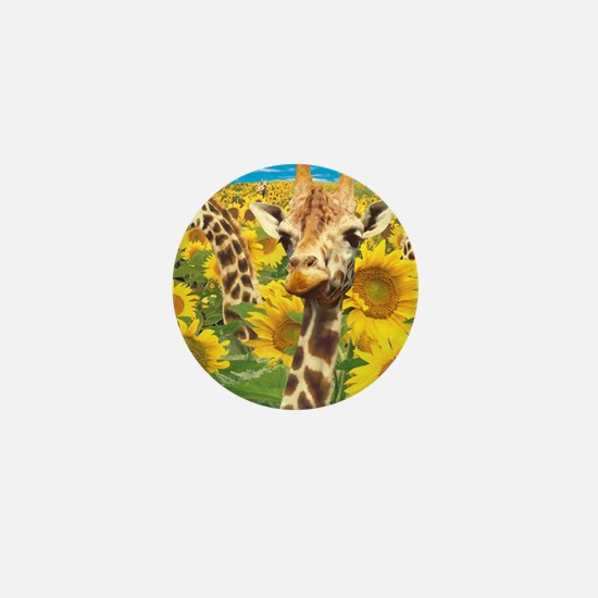 cp-ww-pad-sunflower Mini Button