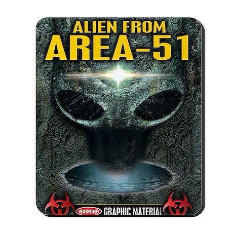 Area-51 Alien Mousepad