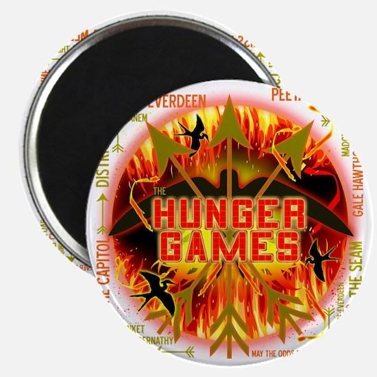 hunger games katniss peeta gale the tribute Magnet