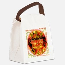 hunger games katniss peeta gale t Canvas Lunch Bag