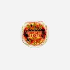 hunger games katniss peeta gale the tr Mini Button