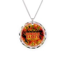 hunger games katniss peeta g Necklace Circle Charm