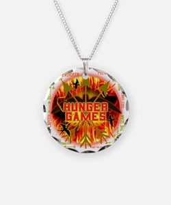hunger games katniss peeta g Necklace Circle Charm