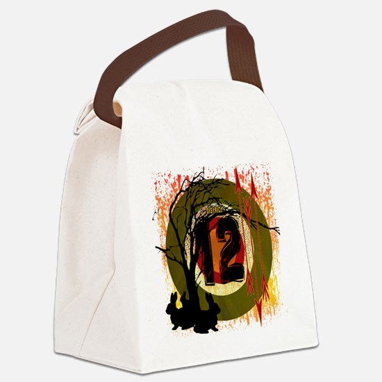 hunting in district 12 the hunger Canvas Lunch Bag