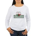 A true friend never... Women's Long Sleeve T-Shirt