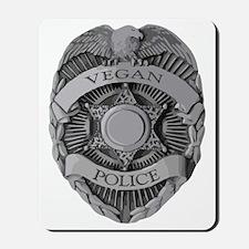 VEGAN POLICE Mousepad