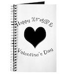 'Cursing Black Heart' Journal