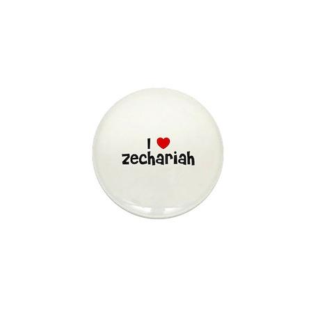 I * Zechariah Mini Button (10 pack)