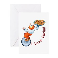 I Love Purim!  Greeting Cards (Pk of 10)
