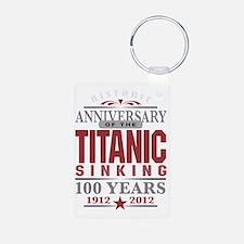 Titanic 100 Yr 2 Aluminum Photo Keychain