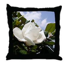 Magnolia In Heaven Throw Pillow