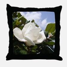 Magnolia In Heaven Throw Pillow