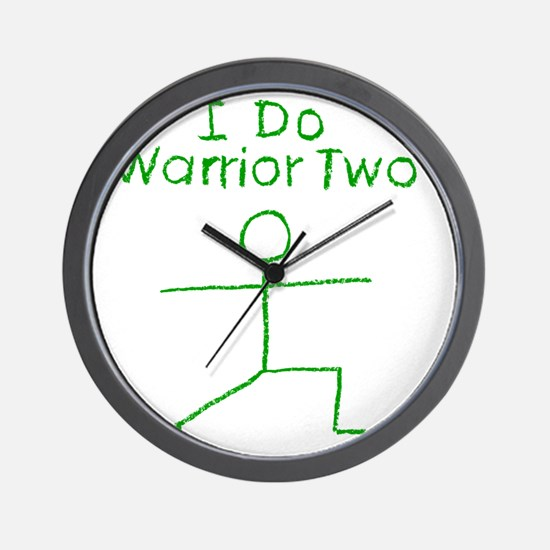 Warrior Two G Wall Clock