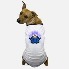Chakra Lotus - Throat Blue Dog T-Shirt