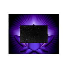 Chakra Lotus - Third Eye Purple - ba Picture Frame