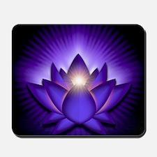 Chakra Lotus - Third Eye Purple - stadiu Mousepad