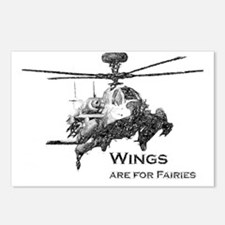 Wings Apache Postcards (Package of 8)