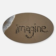 imagine Sticker (Oval)