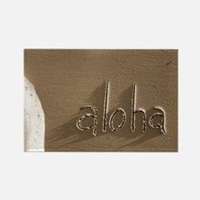 aloha Rectangle Magnet