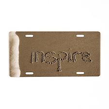 inspire Aluminum License Plate