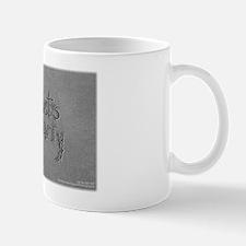 lets party bw Mug