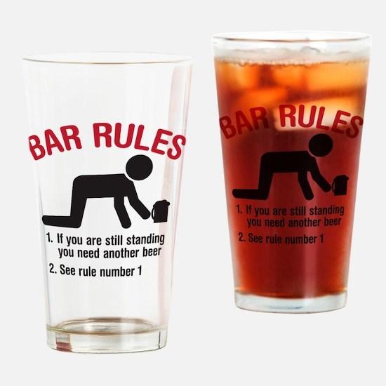 barrules copy Drinking Glass