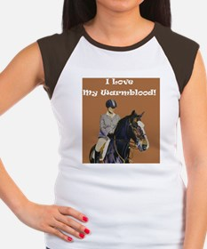 i_love_my_warmblood Women's Cap Sleeve T-Shirt