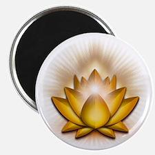 Chakra Lotus - Solar Plexus Yellow Magnet