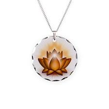 Chakra Lotus - Sacral Orange Necklace