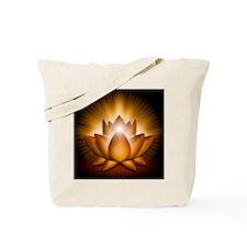 Chakra Lotus - Sacral Orange - stadium bl Tote Bag
