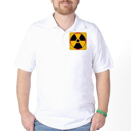 Nuclear Meltdown Warning Golf Shirt