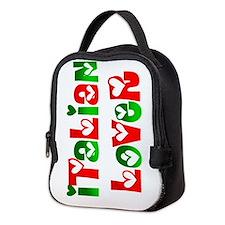 Italian Lover Neoprene Lunch Bag
