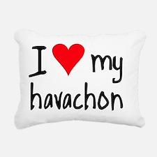 ihearthavachon Rectangular Canvas Pillow