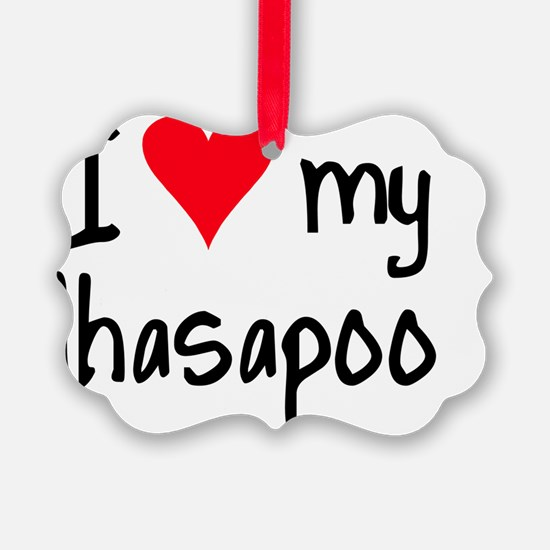 iheartlhasapoo Ornament