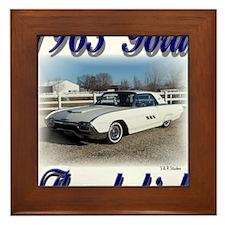 1963 Bruce 1a Framed Tile