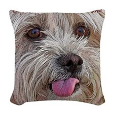 onlypetsCF Woven Throw Pillow
