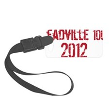 Leadville 100 2012 RED Luggage Tag