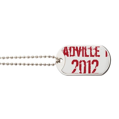 Leadville 100 2012 RED Dog Tags