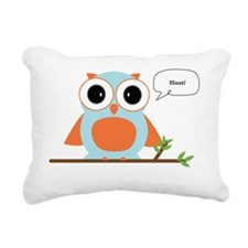 Hoot Rectangular Canvas Pillow