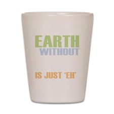 earth without art_dark Shot Glass