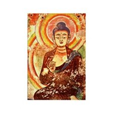 Buddha1 Rectangle Magnet