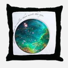 tee_reality Throw Pillow