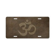 ShoulderBagBuddhism1 Aluminum License Plate