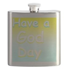 Have a God Day Flask