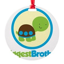 TurtleCircleBiggestBrother Ornament