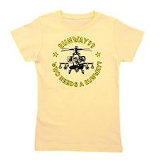 Runway Yellow Girl's Tee