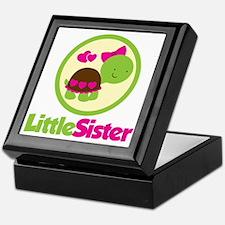 TurtleCircleLittleSister Keepsake Box